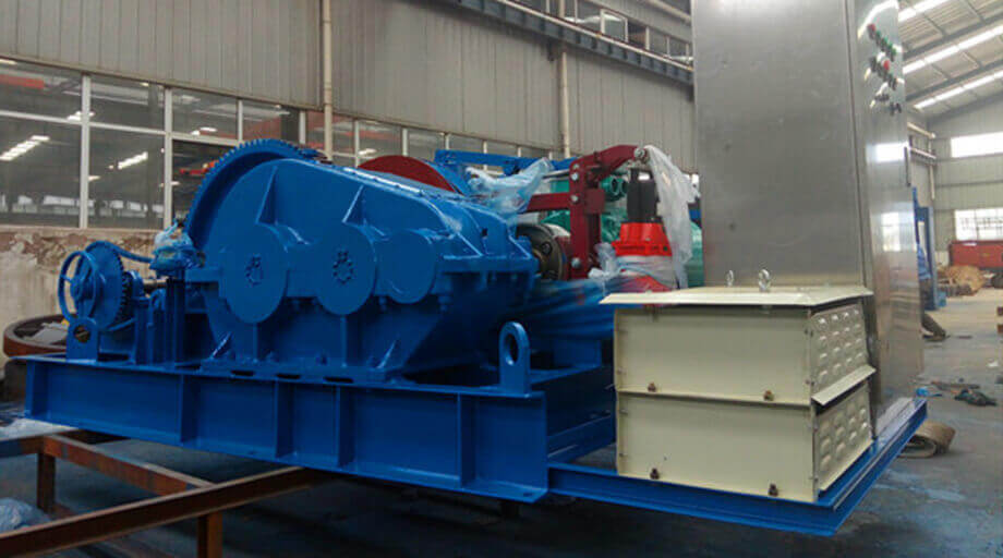 JK8 Electrical Winch Exported To Israel