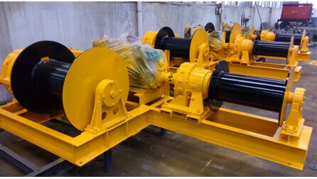 2JM Electrical Winch Exported To Bangladesh