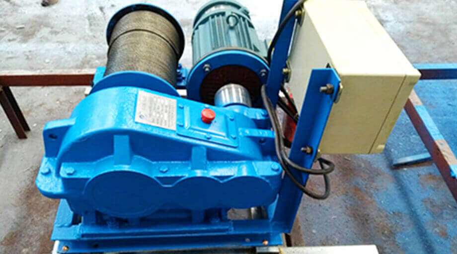 JM1T Electric Winch Exported To Saudi Arabia