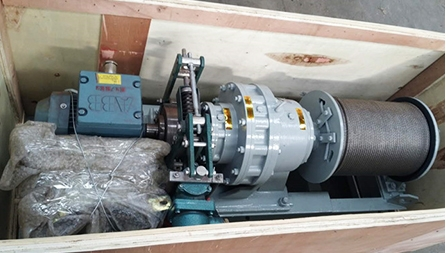 JMB1T Electric Winch Exported To Indonesia