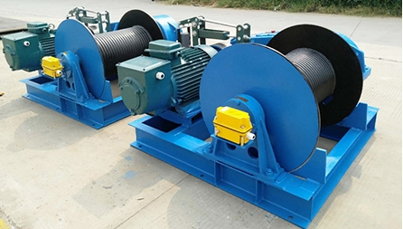 JM6T Electric Winch Exported To Philippines