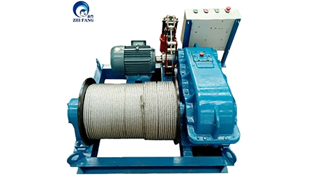 JM0.5T Electric Winch Exported To Dubai