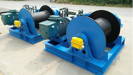 JM2T Electric Winch Exported To Turkey