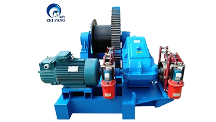JM14T Electric Winch Exported To Russia
