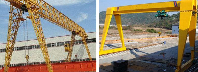 MH Gantry Crane With Electric Hoist